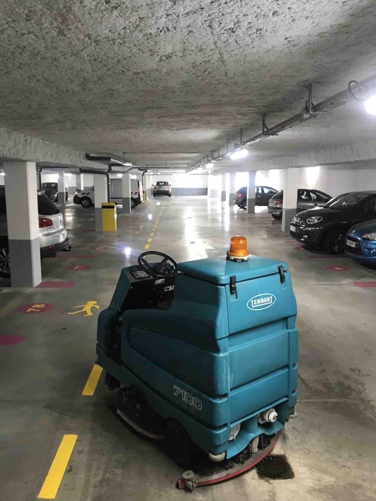 nettoyage parking à toulouse