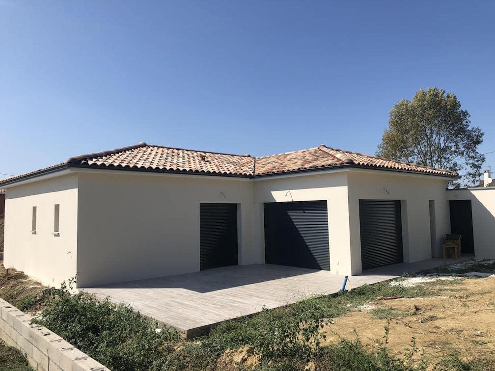 Nettoyage de fin de chantier d'une villa située sur la commune de Cornebarrieu, DNA Propreté & Services