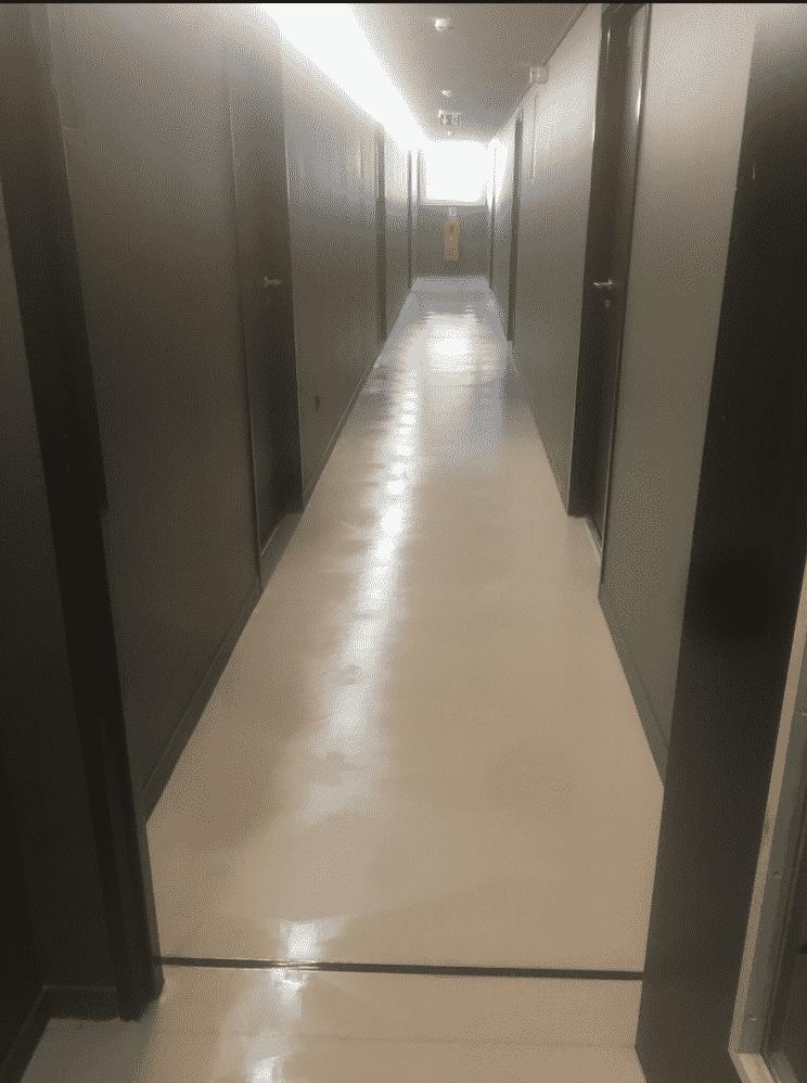 Remise en état de 60 chambres étudiantes pour la société Demathieu Bard, DNA Propreté & Services