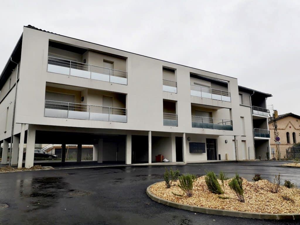 Nettoyage de fin de chantier d'un programme de 15 appartements situés sur la commune de Saint-Alban, DNA Propreté & Services