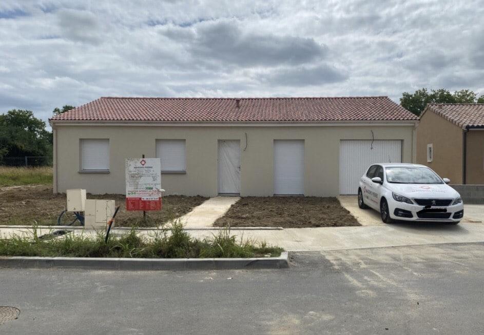 Nettoyage de fin de chantier d'une villa située à Grenade, DNA Propreté & Services
