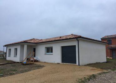 Nettoyage de fin de chantier d'une villa située à Montbartier