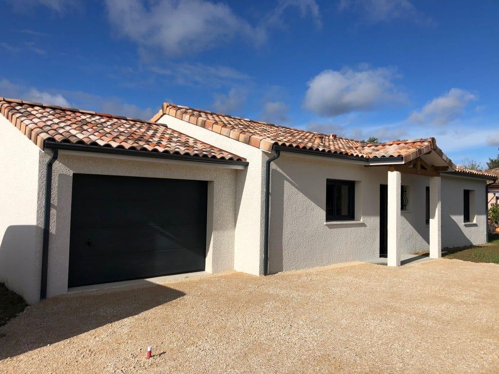 Nettoyage de fin de chantier d'une villa située sur la commune de Ségoufielle, DNA Propreté & Services