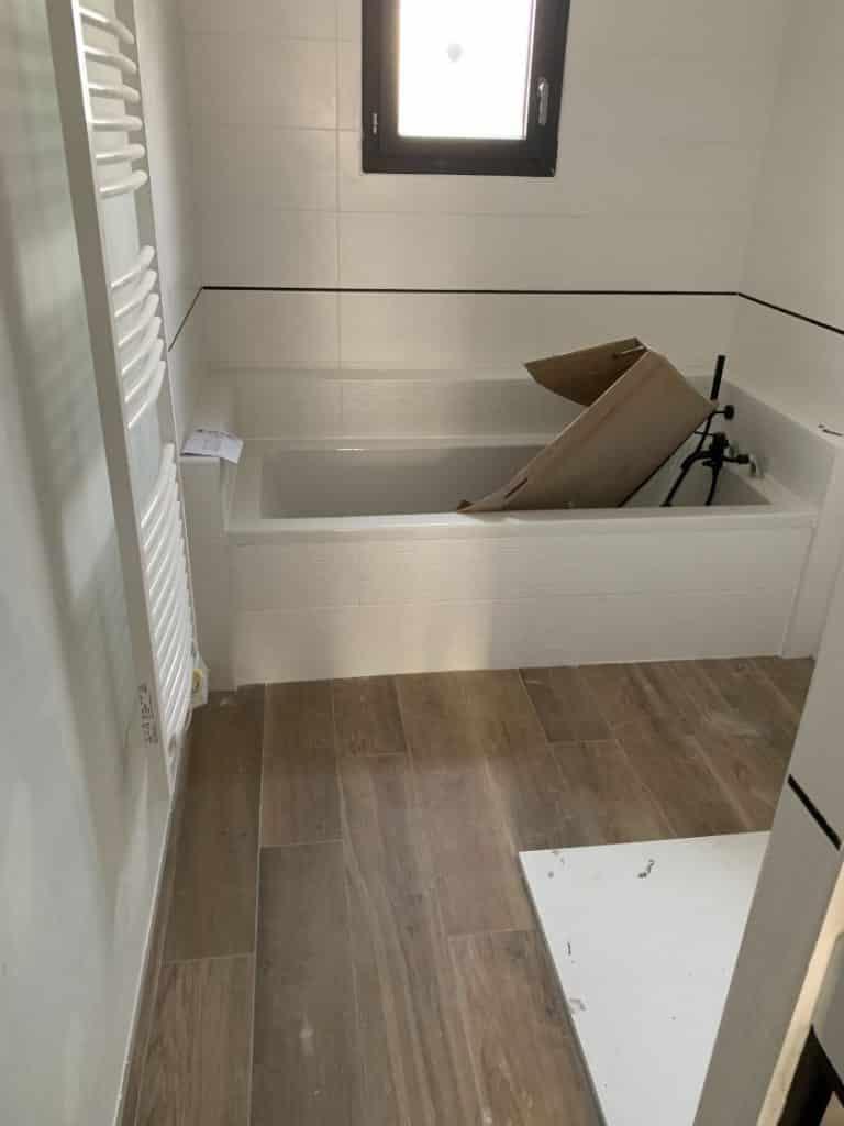 Nettoyage de fin de chantier d'une villa située à Bouillac dans le département du Tarn-et-Garonne, DNA Propreté & Services