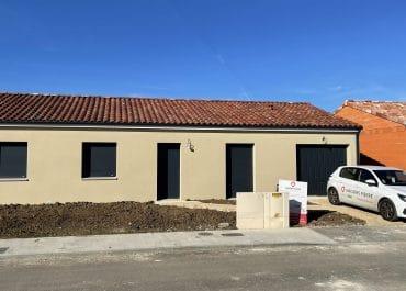 Nettoyage de fin de chantier d'une villa située à Pompignan