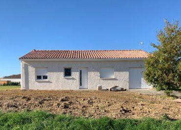 Nettoyage de fin de chantier d'une villa située à Fabas