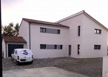 Nettoyage de fin de chantier d'une villa situées à Quint-Fonsegrives avec Garona Villa