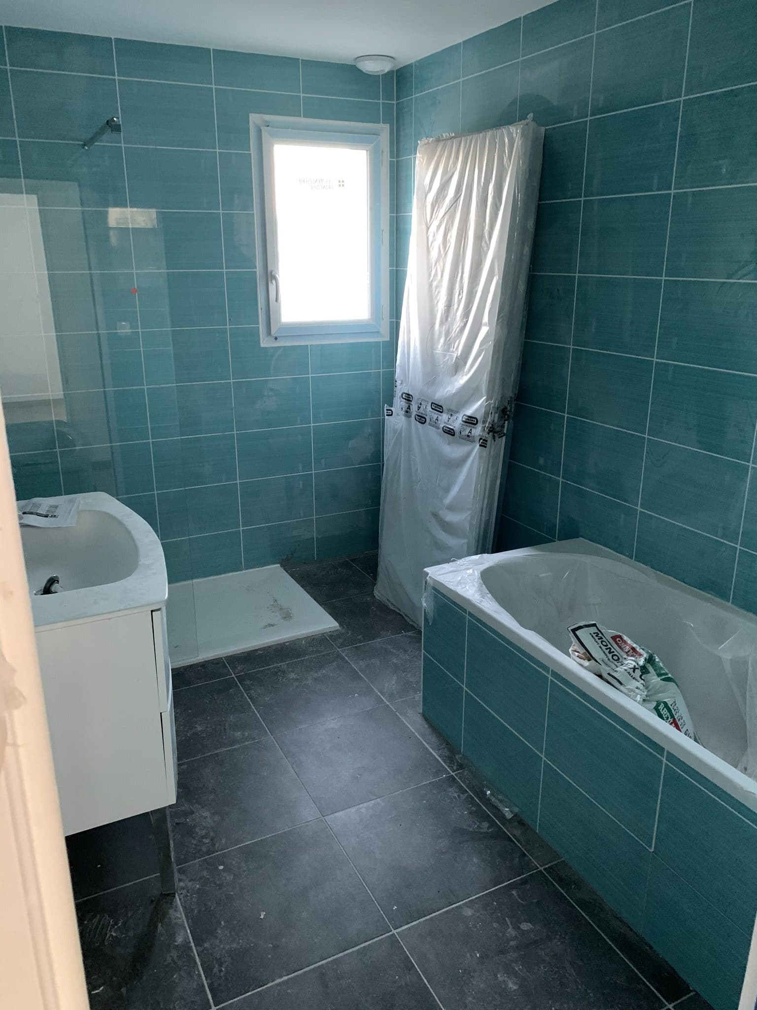 salle de bain sale chantier toulouse