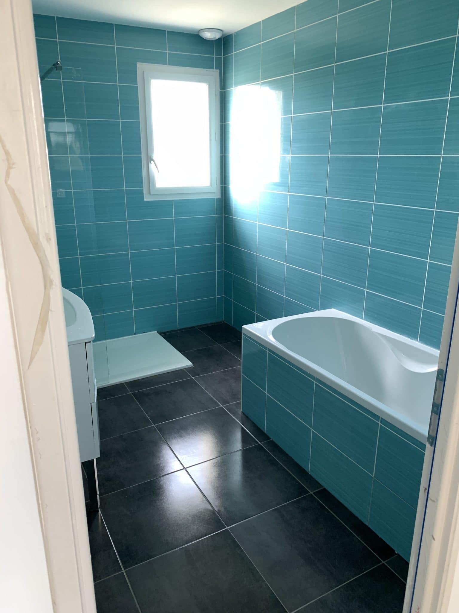 nettoyage fin de chantier à toulouse salle de bain