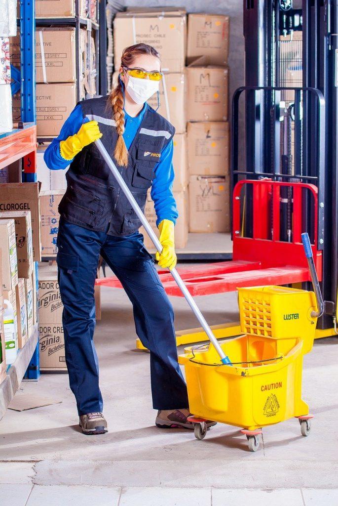 agent nettoyage industrielle